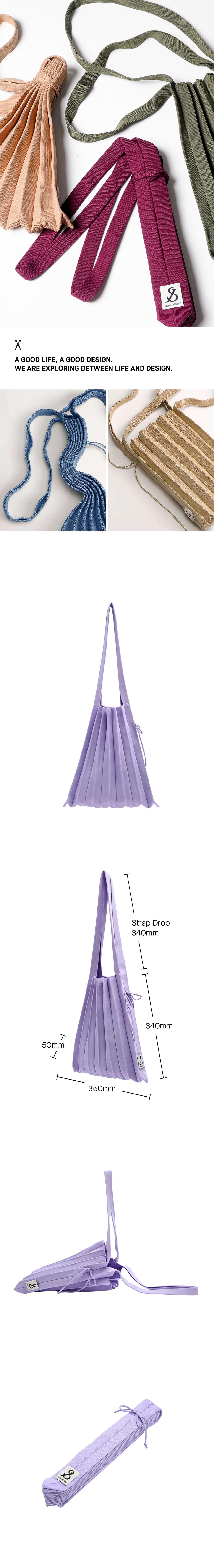 조셉앤스테이시(JOSEPH&STACEY) Lucky Pleats Knit M Lavender